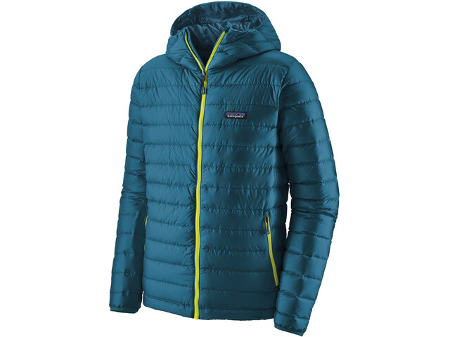 Patagonia Sudadera Plumón Capucha Hombre, crater blue